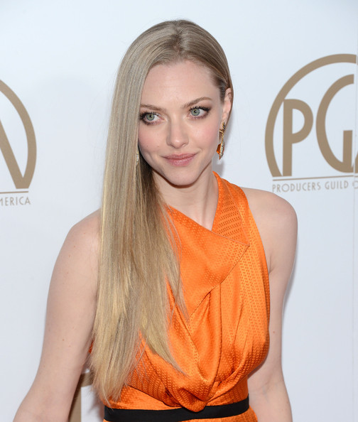 More Pics of Amanda Seyfried Dangling Gemstone Earrings (4 of 16) - Dangle Earrings Lookbook - StyleBistro