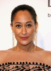 Tracee Ellis Ross went classic with this bun at the Elton John AIDS Foundation Oscar-viewing party.