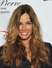Kelly Bensimon wore her hair in a mass of tousled waves at the 25th Annual Power Lunch for Women.