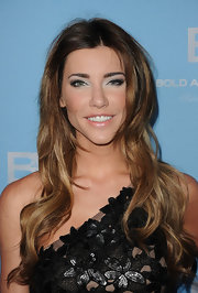 Jacqueline MacInnes Wood attended the 25th Anniversary Party for 'The Bold and the Beautiful' wearing her hair in long tousled layers.