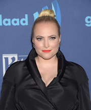 Meghan McCain pulled her hair back into a tight, high bun for the GLAAD Media Awards.