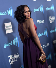 Kerry Washington attended the GLAAD Media Awards holding the celeb-favorite Anya Hindmarch Crisp Packet clutch.