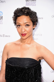 Ruth Negga looked adorable with her short curls at the Gotham Independent Film Awards.