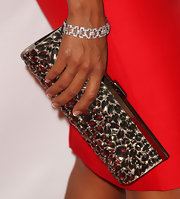 Eva la Rue attended the Imagen Awards wearing a stunning geometric-shaped diamond bracelet.