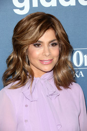Paula Abdul looked fab with her shoulder-length waves and side-swept bangs at the GLAAD Media Awards.