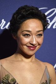 Ruth Negga topped off her look with a cute curly 'do when she attended the Palm Springs International Film Festival.