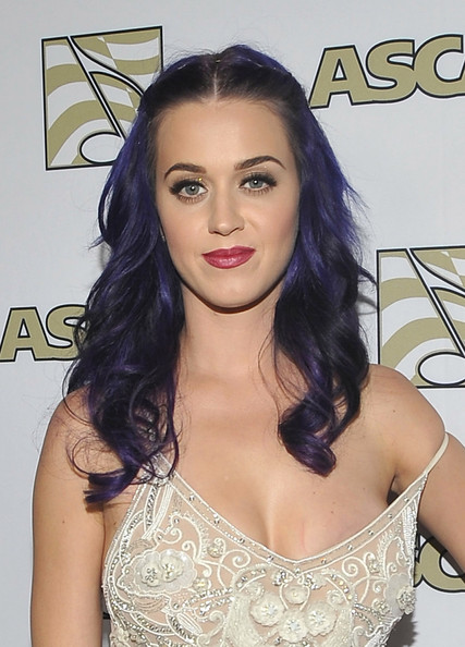 More Pics of Katy Perry Long Wavy Cut (5 of 17) - Katy Perry Lookbook - StyleBistro