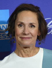 Laurie Metcalf sported a textured bob at the 2018 Palm Springs International Film Festival Awards.