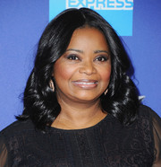 Octavia Spencer sported her usual shoulder-length curls at the Palm Springs International Film Festival Awards Gala.