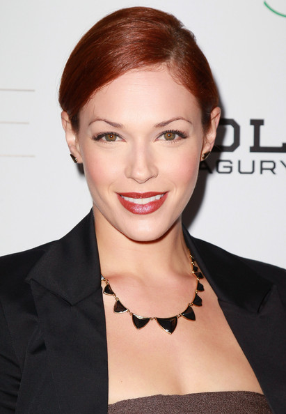 More Pics of Amanda Righetti Bobby Pinned updo (1 of 14) - Amanda Righetti Lookbook - StyleBistro