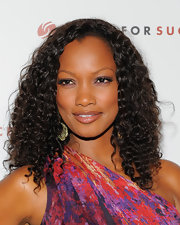 Garcelle showed off her long curls while hitting an event in West Hollywood.
