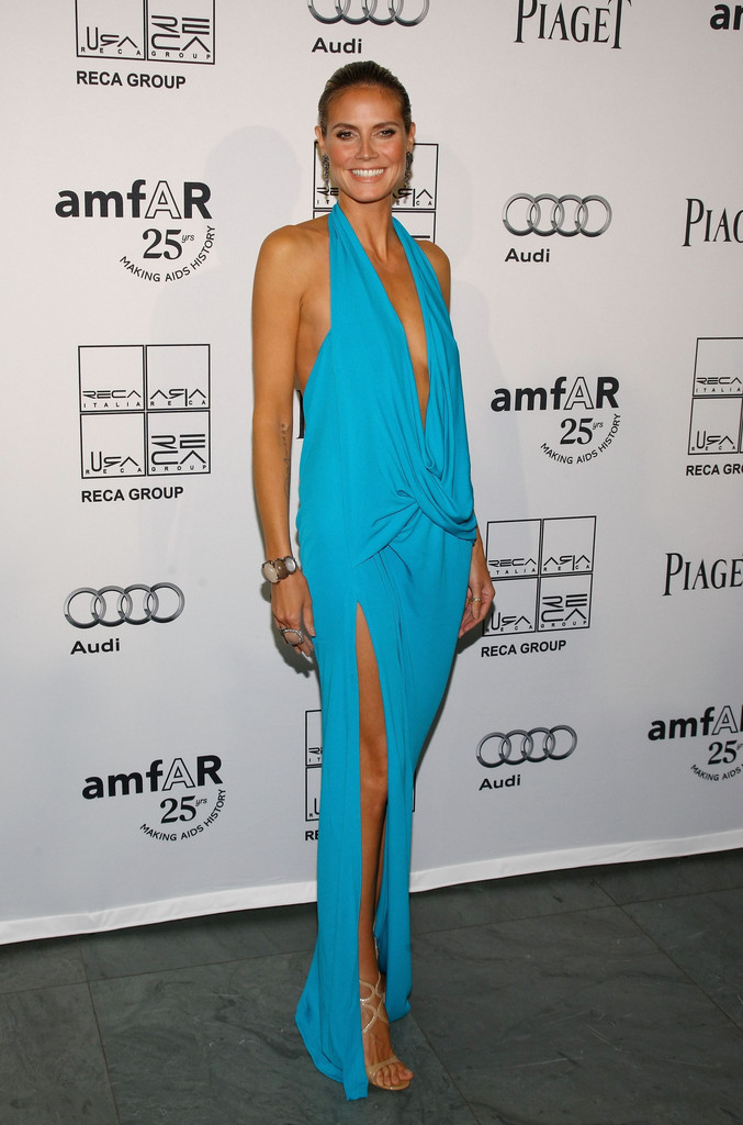 Heidi Klum attends the 2nd Annual amfAR Inspiration Gala at The Museum of Modern Art on June 14, 2011 in New York City.