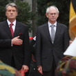 Victor Yushchenko and Herman Van Rompuy