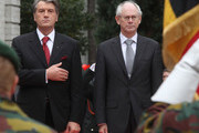 Victor Yushchenko and Herman Van Rompuy Photo