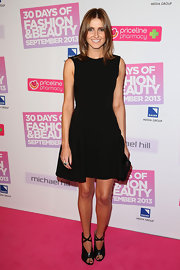 Kate Waterhouse chose a simple A-line LBD for the pink carpet of 30 Days of Fashion and Beauty.