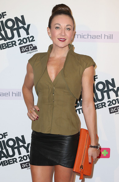 More Pics of Michelle Bridges Mini Skirt (1 of 2) - Michelle Bridges Lookbook - StyleBistro