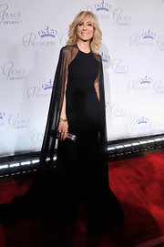Glamourous would be an understatement when describing Judith Light's black chiffon gown.