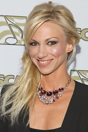 Debbie Gibson pulled back her long locks into a messy side ponytail for a cool and hip look at the ASCAP Awards.