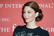 Sofia Coppola looked girly with her ponytail, complete with a bow, during the Annual Night of Stars.