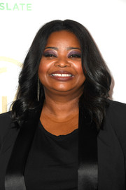 Octavia Spencer framed her face with a curly 'do for the 2019 Producers Guild Awards.
