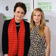 Holly Hunter and Billie Jean King