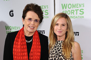 Holly Hunter and Billie Jean King Photo