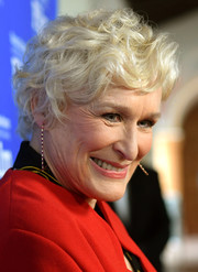 Glenn Close attended the 2019 Santa Barbara International Film Festival wearing a short curly hairstyle.