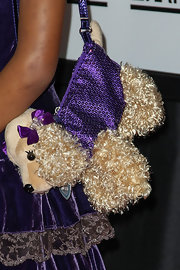 "The ""Beasts of the Southern Wild"" star accessorized with a PUPPY PURSE."