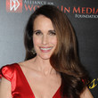 Andie MacDowell's Billowy Waves