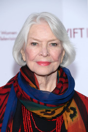 Ellen Burstyn kept it classic with this bob at the Muse Awards.