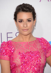 Lea Michele exhibited high-shine lips at the 2013 People's Choice Awards.