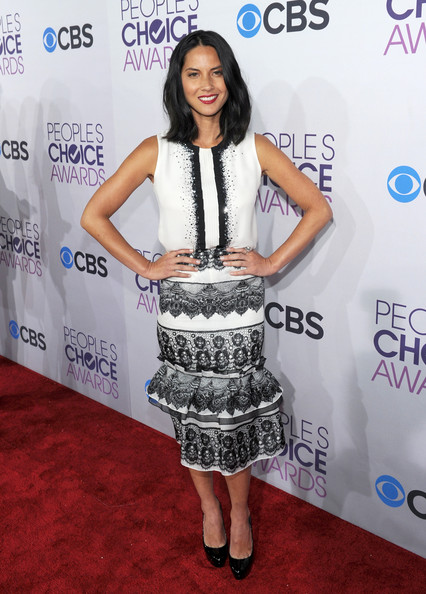 Olivia Munn at the 2013 People's Choice Awards