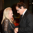 Jacki Weaver and David O. Russell