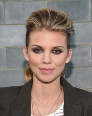 AnnaLynne McCord topped off her look with a sultry, smoky eye.
