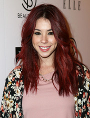 Jillian Rose Reed stuck to her signature red waves when she attended the BeautyCon Summit.