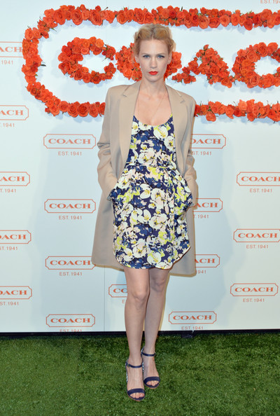 January Jones at the 3rd Annual Coach Evening to Benefit Children's Defense Fund