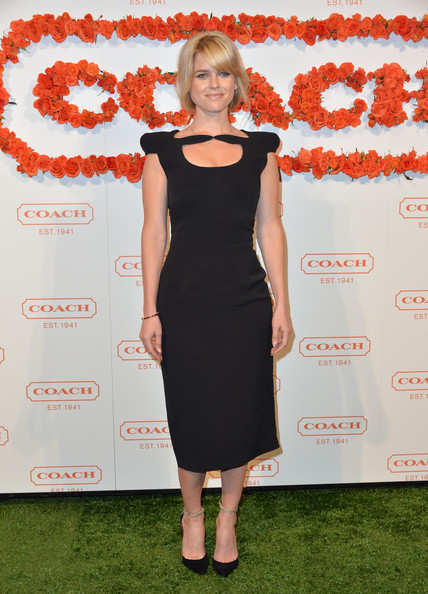 Alice Eve at the 3rd Annual Coach Evening to Benefit Children's Defense Fund