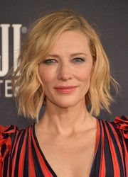 Cate Blanchett sported short, messy-chic waves at the 2017 InStyle Awards.