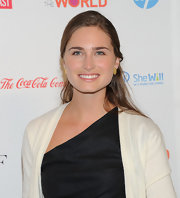 Lauren Bush attended the 3rd Annual Women in the World Summit wearing her long tresses casually swept back.