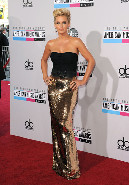 More Pics of Jenny McCarthy Gold Dangle Earrings (5 of 31) - Jenny McCarthy Lookbook - StyleBistro