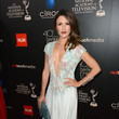 Elizabeth Hendrickson at the Daytime Emmys