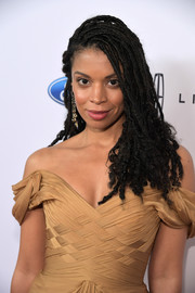 Susan Kelechi Watson attended the Gracie Awards wearing cool dreads.