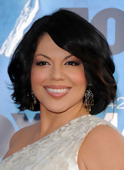 Sara Ramirez rocked crystal dangling earrings at the NAACP Image Awards. They were a dazzling finish to her glowing look.