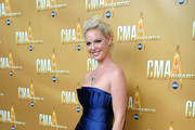 Actress Katherine Heigl attends the 44th Annual CMA Awards at the Bridgestone Arena on November 10, 2010 in Nashville, Tennessee.