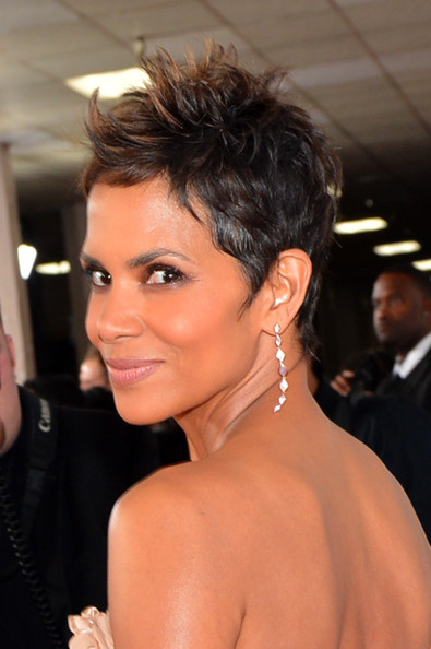 More Pics of Halle Berry Spiked Hair (2 of 39) - Short Hairstyles Lookbook - StyleBistro