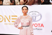 Logan Browning Evening Dress