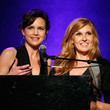 Connie Britton and Carla Guigino