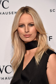 Karolina Kurkova sported a face-framing flippy 'do at the IWC Schaffhausen 'For the Love of Cinema' dinner.