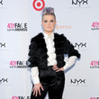 Look of the Day: Kelly Osbourne's Chic Black and White Ensemble