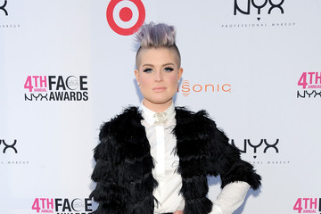 Kelly Osbourne's Chic Black and White Ensemble